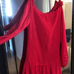 Red Entro Dress size small
